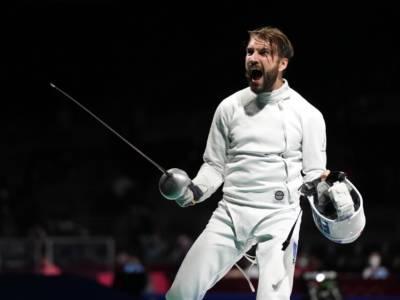 Scherma, Olimpiadi Tokyo 2020: il transalpino Cannone trionfa nella spada maschile. Sconfitto in finale Siklosi