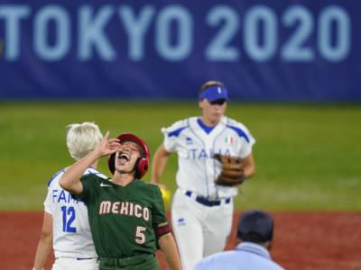 Softball, Olimpiadi Tokyo: Italia sconfitta 5-0 dal Messico e fuori dalla zona medaglie