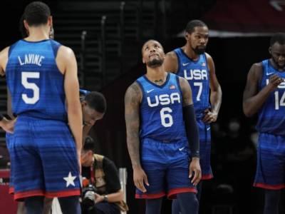 Basket, Olimpiadi Tokyo: USA, sconfitta e rischio nel sorteggio dei quarti di finale? Italia potenziale spettatrice interessata