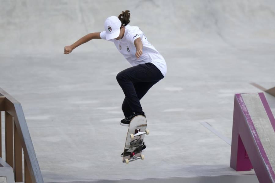 """Skateboard, l'emozione di Asia Lanzi dopo le Olimpiadi: """"Ricorderò questo giorno per il resto della mia vita"""""""