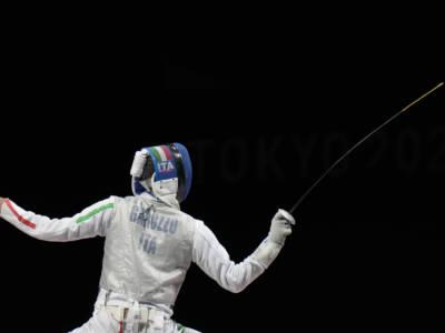 """Scherma, Daniele Garozzo dopo l'argento: """"Ho avuto i crampi. Fa male, ma ha tirato meglio di me"""""""