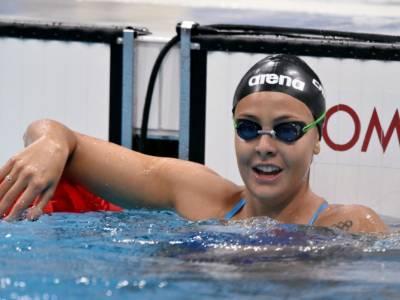 """Nuoto, Martina Carraro: """"Sono soddisfatta. Il podio sarebbe stato molto difficile"""""""