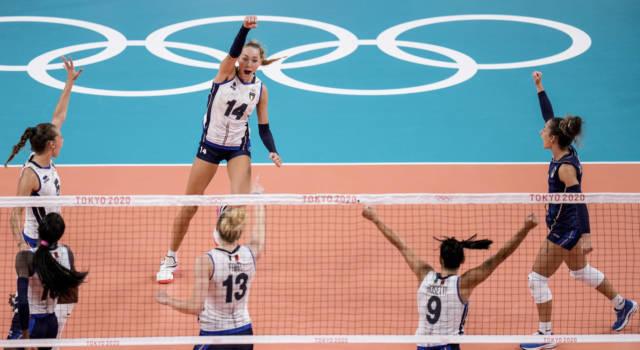 LIVE Italia-Argentina 3-0, Olimpiadi volley donne in DIRETTA: video partita e pagelle azzurre
