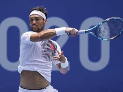 """Tennis, Olimpiadi Tokyo. Fabio Fognini: """"Con questo caldo non ti arriva l'ossigeno alla testa. E' girata male"""""""
