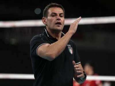 """Volley Olimpiadi Tokyo, Gianlorenzo Blengini: """"E' stata una buona prova, la squadra è unita e compatta"""""""