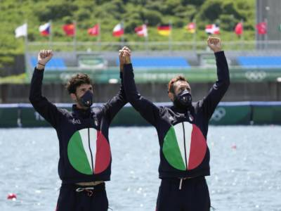 """Canottaggio, Olimpiadi Tokyo. Oppo: """"Cinque anni per questo""""; Ruta: """"Ancora non ci credo"""""""