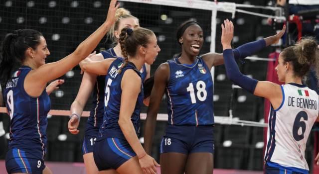 Volley, Olimpiadi Tokyo: terza vittoria consecutiva per l'Italia. Le azzurre dominano contro l'Argentina