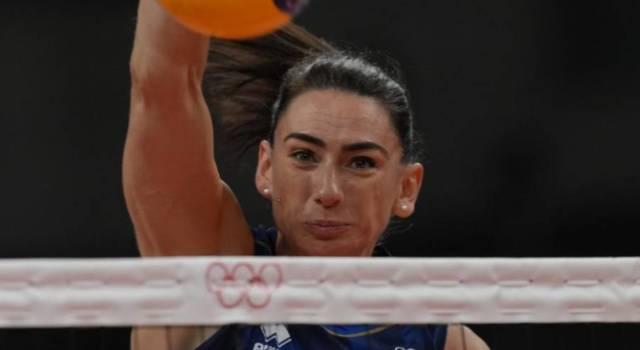 """Volley, Olimpiadi Tokyo. Raphaela Folie: """"Paura di nessuno, il bello inizia ora. Siamo un gran gruppo"""""""