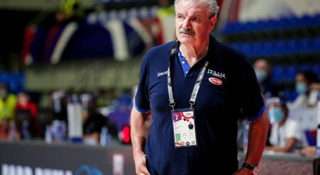 """Basket Olimpiadi Tokyo, Meo Sacchetti: """"Saremo pronti per l'esordio. Girone durissimo, ma diremo la nostra in ogni sfida"""""""