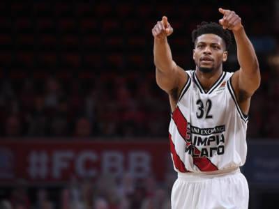 Basket: Jeff Brooks lascia Milano e approda alla Reyer Venezia