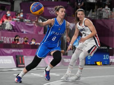 Basket 3×3, Olimpiadi Tokyo: Italia sconfitta dalla Russia, ci sarà la Cina nei quarti di finale