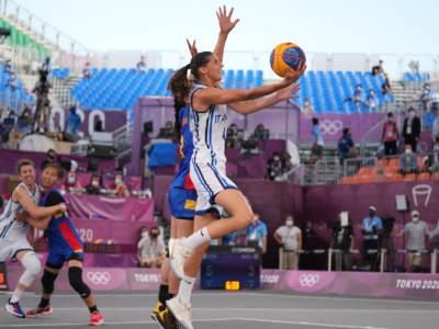 Italia-Cina, Basket 3×3 oggi, Olimpiadi Tokyo: orario, tv, programma, streaming dei quarti di finale
