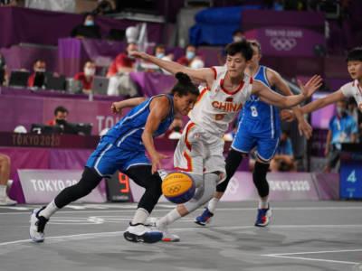 Basket 3×3, Olimpiadi Tokyo: Italia eliminata dalla Cina ai quarti di finale, prova maestosa di Wang