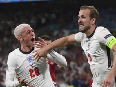 LIVE Inghilterra-Danimarca 2-1, Europei 2021 in DIRETTA: i Tre Leoni conquistano la finale contro l'Italia
