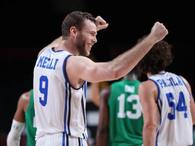 """Basket, Nicolò Melli: """"Oggi siamo venuti fuori con grande carattere. Ho sempre detto che l'Italia aveva qualcosa di speciale"""""""