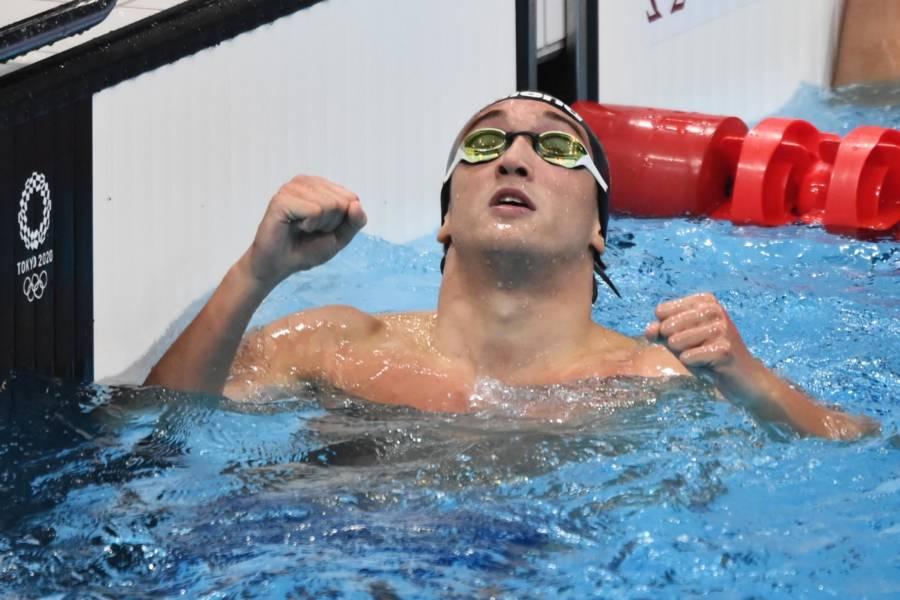 """Nuoto Olimpiadi Tokyo, Federico Burdisso: """"E' bellissimo salire sul podio con questa staffetta. I primi due erano irraggiungibili"""""""