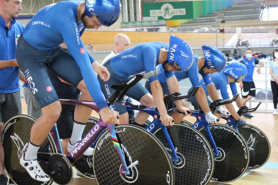 Ciclismo su pista, Filippo Ganna e il quartello sono in semifinale per l'oro a Tokyo 2020! Solo 8 decimi dalla Danimarca