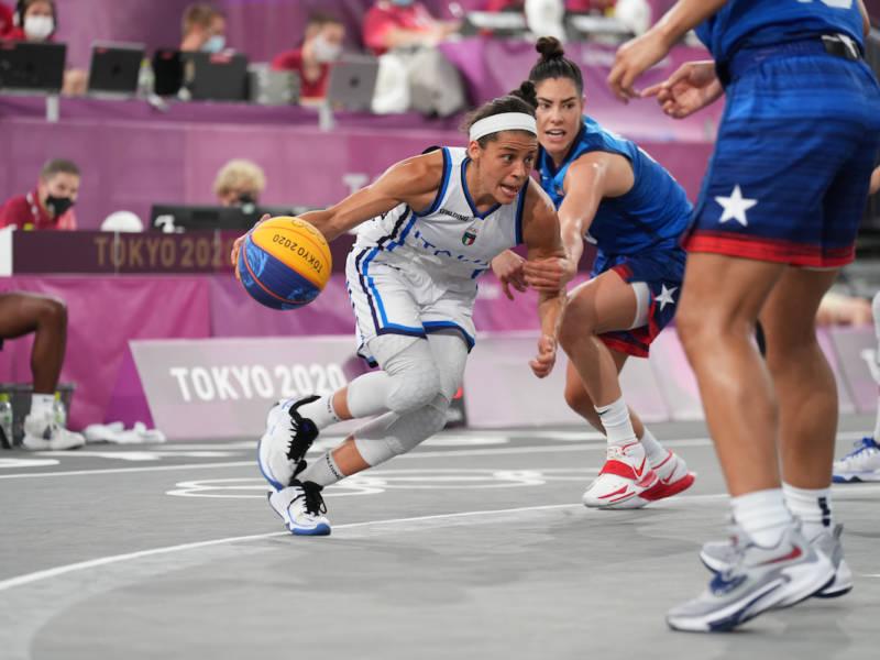 Basket 3×3: Italia ai quarti di finale alle Olimpiadi! Azzurre qualificate, non serve attendere domani