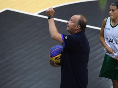 """Basket 3×3, Andrea Capobianco: """"Andiamo alle Olimpiadi per giocarcela con tutte. D'Alie ha una mentalità vincente"""""""