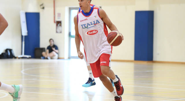 Basket: Matteo Spagnolo torna in Italia, ufficiale la firma del classe 2003 con Cremona