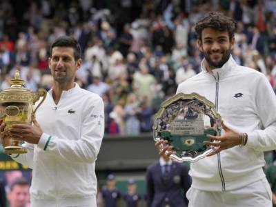Ranking ATP (12 luglio): Novak Djokovic sempre in vetta, Matteo Berrettini sale al n.8 del mondo!