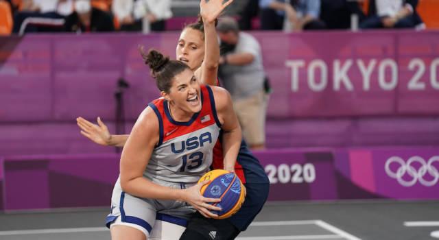 Basket 3×3, Olimpiadi Tokyo: USA e Serbia dominano ancora, nel torneo maschile ancora tutto aperto