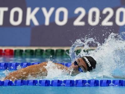 Nuoto, un buon Gregorio Paltrinieri è in finale alle Olimpiadi nei 1500 sl con il 4° tempo