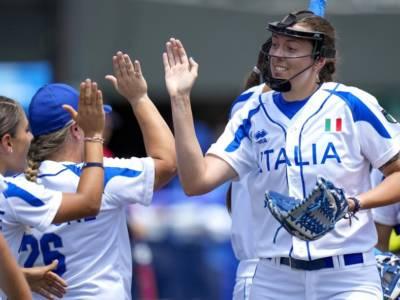 Softball, Olimpiadi Tokyo: Italia opposta al Giappone per tenere vive le speranze di medaglia