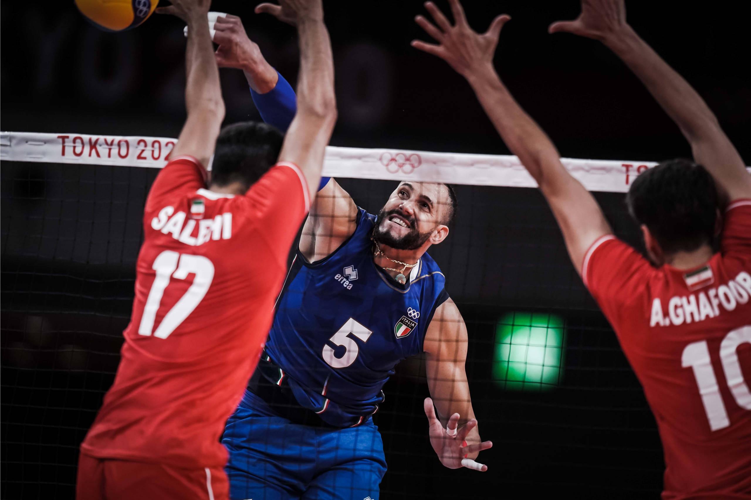 Volley, Olimpiadi Tokyo. Una bella Italia batte l'Iran 3 1 e vola ai quarti di finale!