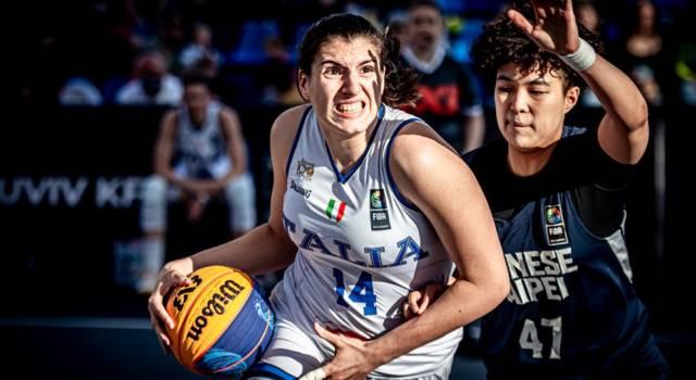 Basket 3×3: Sara Madera e Mariella Santucci non potranno andare alle Olimpiadi per problemi di eleggibilità FIBA