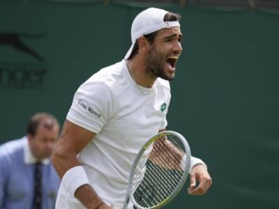 "Wimbledon 2021, Matteo Berrettini: ""Ora in finale devo crederci"""