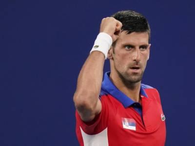 """Tennis, Olimpiadi Tokyo, Novak Djokovic: """"Gli organizzatori ci stanno venendo incontro per il caldo. Mi sto godendo l'esperienza"""""""