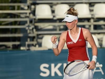 WTA Palermo 2021: brivido Teichmann, Samsonova subito fuori. Italiane senza gioia
