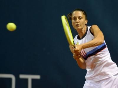 Tennis, WTA Palermo: Giulia Gatto-Monticone sconfitta all'esordio