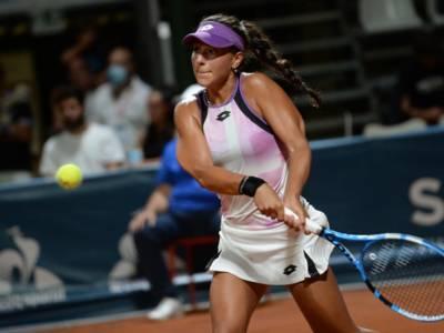 Tennis, WTA Palermo 2021: Lucrezia Stefanini strappa applausi ma si inchina ad Astra Sharma
