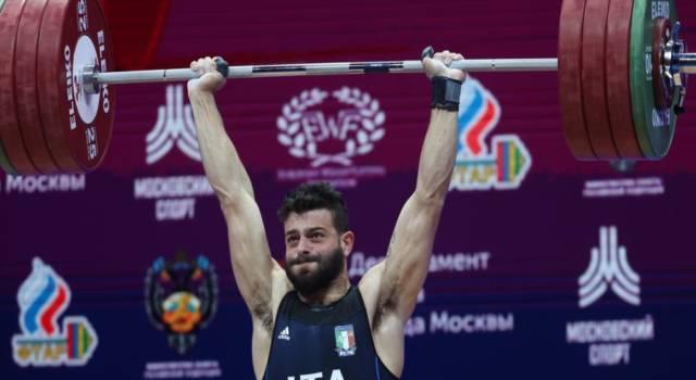 Sollevamento pesi, entry list Olimpiadi Tokyo: misure importanti per Pizzolato e Zanni