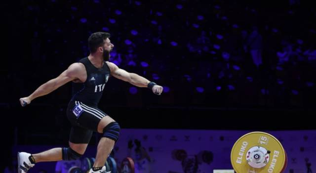Sollevamento pesi, Antonino Pizzolato è splendido bronzo nei -81 kg. Oro al cinese Lyu