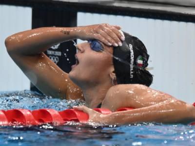 Nuoto pagelle Olimpiadi 31 luglio. Quadarella, che carattere! Ceccon: sempre più in alto!