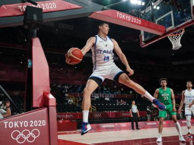 """Basket, Simone Fontecchio: """"Stiamo facendo delle Olimpiadi incredibili. Continuiamo a sognare e a divertirci"""""""