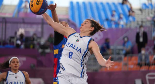 LIVE Italia-Usa 13-17, Olimpiadi Basket 3×3 in DIRETTA: vincono le americane, ma le azzurre lottano benissimo