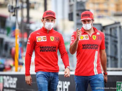 """F1, GP Ungheria 2021, Carlos Sainz: """"Chiedo scusa per il mio errore"""", Charles Leclerc: """"Che fatica con il posteriore"""""""