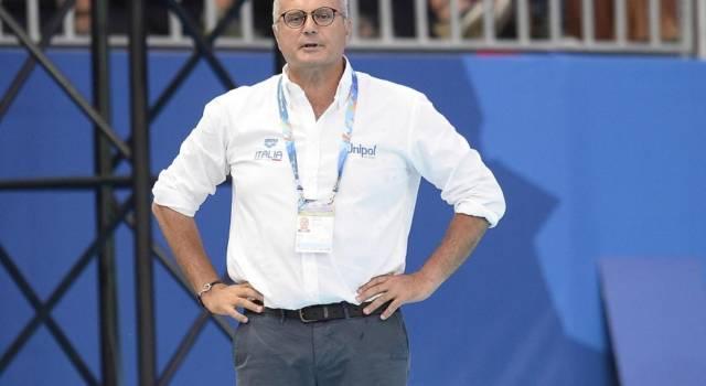 """Pallanuoto, Sandro Campagna: """"Non abbiamo fatto la partita che avevamo preparato. C'è rammarico"""""""