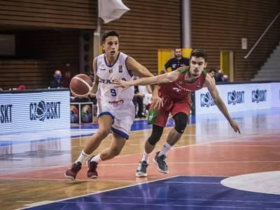 Basket: Italia, seconda vittoria agli European Challengers Under 20 2021. Demolito il Portogallo, Spagnolo sfiora la tripla doppia