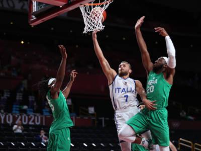 VIDEO Italia-Nigeria 80-71 basket, Olimpiadi Tokyo: highlights e sintesi. Azzurri ai quarti!