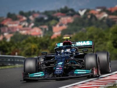 F1, risultato FP2 GP Ungheria 2021: Valtteri Bottas il migliore davanti a Hamilton, Ferrari fuori dalla top-10