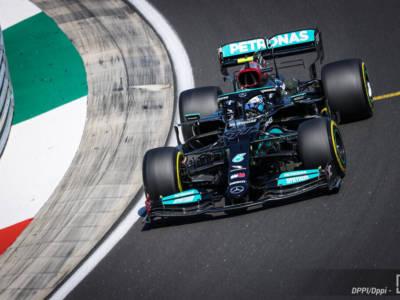 F1, la Mercedes impressiona nel venerdì dell'Hungaroring, Verstappen stringe i denti, Ferrari difficile da leggere