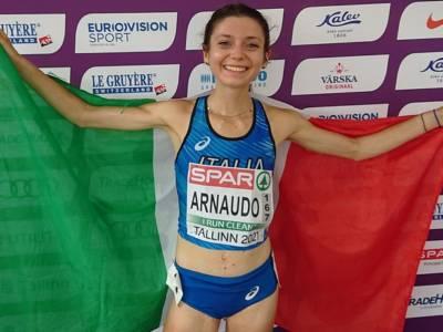 Atletica, Europei U23: Anna Arnaudo e Andrea Cosi festeggiano le medaglia, Fontana quinta