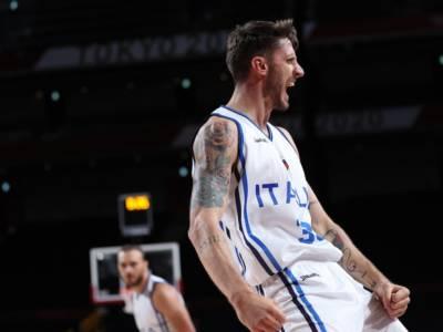 Basket, è un'Italia da impazzire! Sconfitta la Nigeria, azzurri ai quarti di finale alle Olimpiadi!