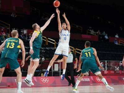 VIDEO Italia-Australia 83-86, Olimpiadi Tokyo basket: highlights e sintesi