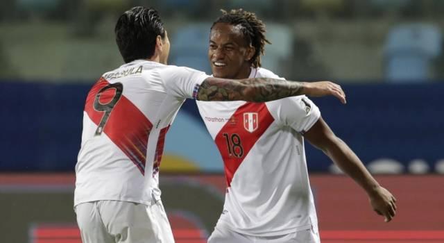 Calcio, Coppa America 2021: Brasile in semifinale grazie a Paquetà, Lapadula fa sognare il Perù